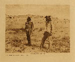 volume 12 facing: page  52 Hopi farmers, yesterday and today - photogravure plate