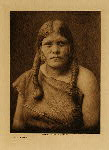 volume 12 facing: page  54 A Hopi woman - photogravure plate