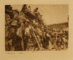 volume 12 facing: page  122 Spectators at the snake dance - photogravure plate