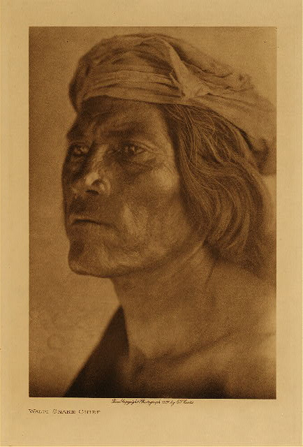 volume 12  facing: page  126 Walpi snake chief