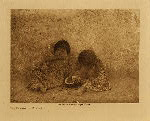 volume 12 facing: page  36 The Delights of Childhood - photogravure plate