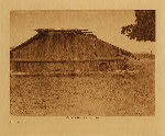 volume 13 facing: page  12 Hupa house - photogravure plate