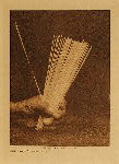 volume 13 facing: page  18 Sticks used in Hupa guessing game - photogravure plate