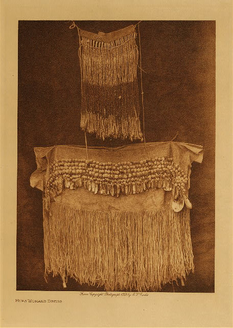 volume 13  facing: page  22 Hupa woman's dress