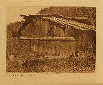 volume 13 facing: page  62 Yurok house on Klamath River - photogravure plate