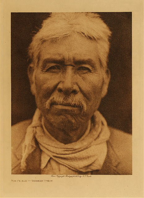 volume 13  facing: page  68 Bob Peters, Trinidad Yurok