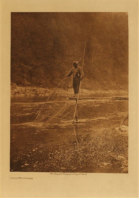 volume 13  facing: page  76 Yurok fishermen