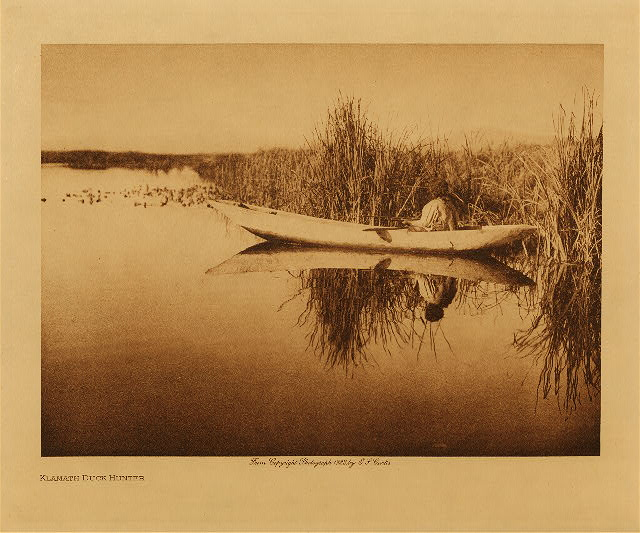 volume 13  facing: page  142 Klamath duck hunter