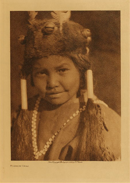 volume 13  facing: page  144 Klamath child