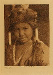 volume 13 facing: page  144 Klamath child - photogravure plate