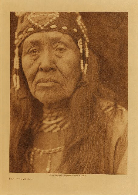 volume 13  facing: page  150 Klamath woman