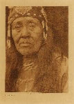 volume 13 facing: page  150 Klamath woman - photogravure plate