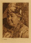 volume 13 facing: page  176 Klamath matron - photogravure plate