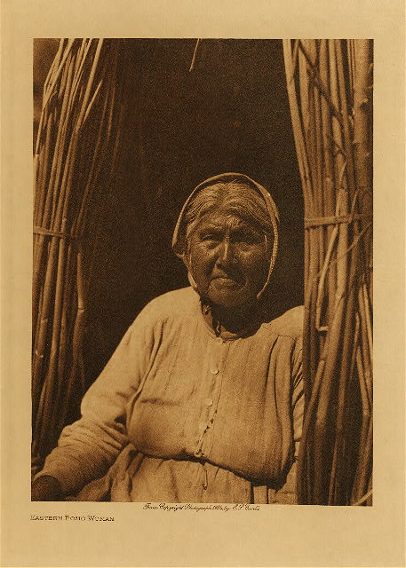 volume 14  facing: page  52 Eastern Pomo woman