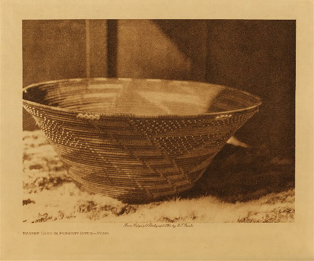 volume 14  facing: page  68 Basket used in puberty rites - Pomo