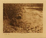 volume 14 facing: page  76 On Russian River - Pomo - photogravure plate