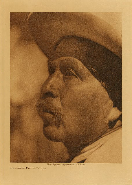 volume 14  facing: page  96 A southern Miwok - Profile