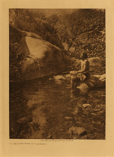 volume 14  facing: page  104 On the south fork of the Tule River