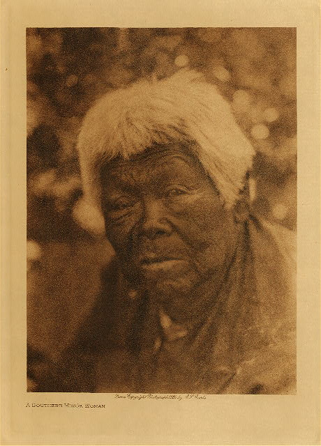 volume 14  facing: page  108 A southern Miwok woman