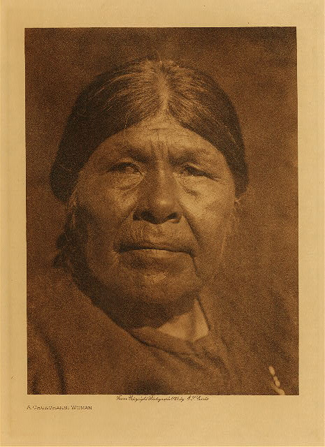 volume 14  facing: page  120 A Chukchansi woman