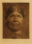 volume 14 facing: page  120 A Chukchansi woman - photogravure plate