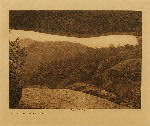 volume 14 facing: page  166 Looking out of the painted cave - photogravure plate