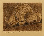 volume 14 facing: page  172 Rattlesnake design in Yokuts basketry - photogravure plate