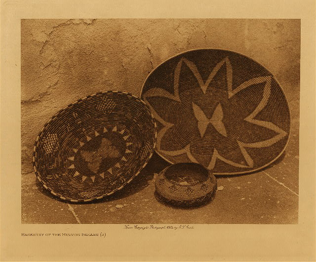 volume 15  facing: page  14 Basketry of the Mission Indians - B