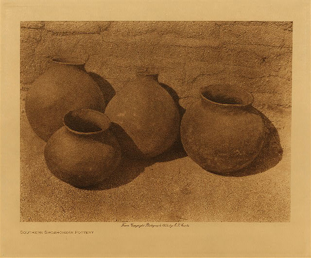 volume 15  facing: page  16 Southern Shoshonean pottery