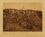 volume 15 facing: page  52 Summer shelter at Campo - Diegueño - photogravure plate