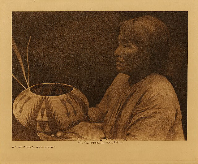 volume 15  facing: page  60 A Lake Mono basket-maker