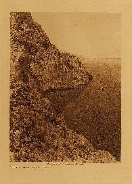 volume 15  facing: page  72 Western shore of Walker Lake