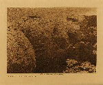 volume 15 facing: page  84 Volcanic mud formation at Pyramid Lake - photogravure plate