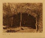 volume 15 facing: page  112 Cahuilla house in the desert - photogravure plate