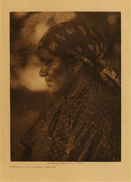 volume 15  facing: page  128 A woman of Palm Springs - Cahuilla