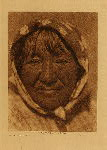volume 15 facing: page  144 Paviotso female type - photogravure plate