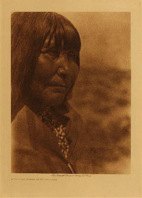 volume 15  facing: page  148 A Paviotso woman of Walker Lake