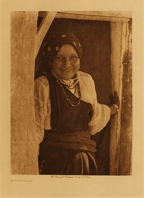 volume 16  facing: page  14 An Isleta woman