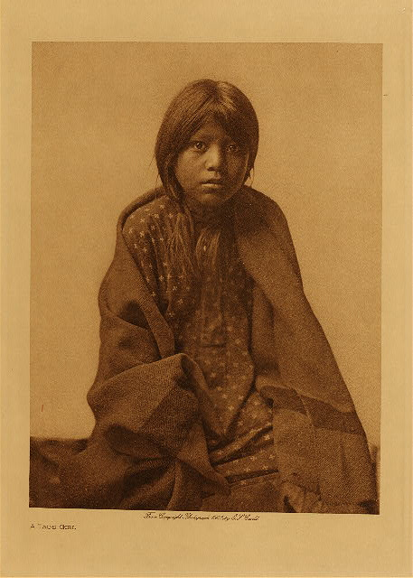 volume 16  facing: page  54 A Taos girl