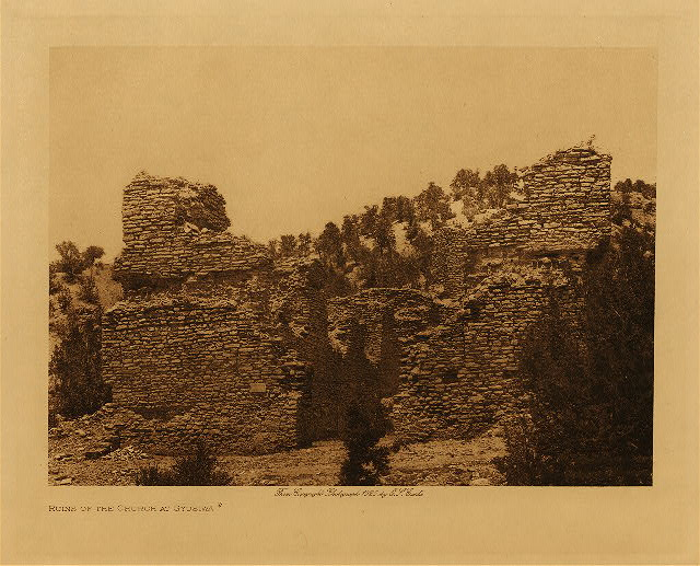 volume 16  facing: page  72 Ruins of the church at Gyusiwa