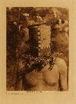 volume 16 facing: page  108 Tyo'oni Shiwanna mask - Cochita - photogravure plate