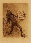 volume 16 facing: page  114 Sia war-dancer - photogravure plate