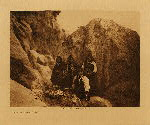 volume 16 facing: page  212 Among the rocks - Acoma - photogravure plate