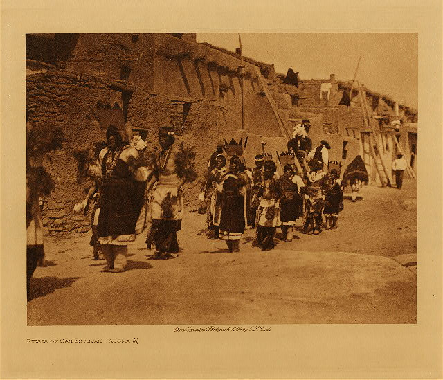 volume 16  facing: page  218 Fiesta of San Estevan, A - Acoma