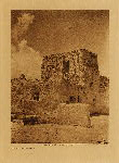 volume 16 facing: page  244 Paguate watchtower - photogravure plate
