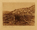 volume 16 facing: page  250 Excavated ruins at Gyusiwa - Jemez Springs - photogravure plate