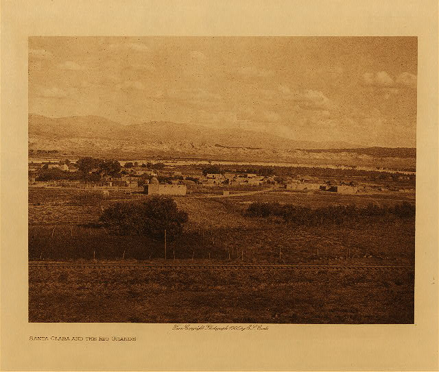 volume 17  facing: page  18 Santa Clara and the Rio Grande