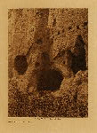 volume 17 facing: page  32 Cave-dwellings at Puye - photogravure plate