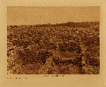 volume 17 facing: page  34 Ruins on the mesa at Puye - photogravure plate