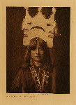 volume 17 facing: page  56 Tablita woman dancer - San Ildefonso - photogravure plate